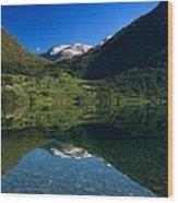 Flo Norway Wood Print