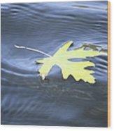 Float Away Wood Print