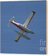 Float Plane  Wood Print