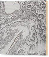Floating Ghost Wood Print