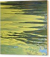 Floating On Blue 27 Wood Print