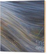 Floating River Vikakoengaes Wood Print