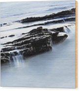 Floating Stone Wood Print