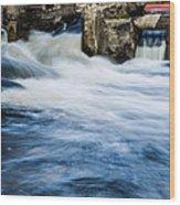Flood Waters Wood Print