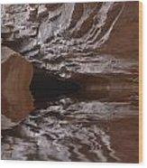 flooded Ohio cave Wood Print