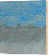 Flooding At Lone Pine Wood Print