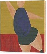Floor Dancer 2 Wood Print