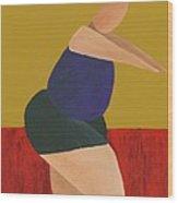 Floor Dancer 5 Wood Print