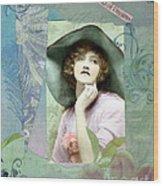 Flora Wood Print