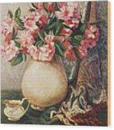Floral 12 Wood Print