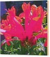Floral 6 Wood Print