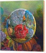 Floral Ambrosia Wood Print