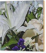 Floral Arrangement  Wood Print