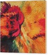 Floral Art Xxi Wood Print