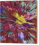 Floral Art Xxiv Wood Print