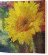 Floral Art Xxxvi Wood Print