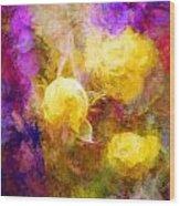 Floral Art Xxxxv Wood Print