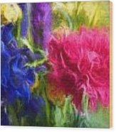 Floral Art Xxxxvi Wood Print