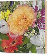 Floral Bouquet 3 Wood Print