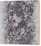 floral cascade II Wood Print