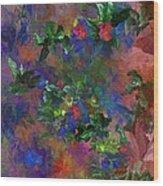 Floral Fantasy 010413 Wood Print