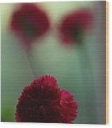 Floral Fata Morgana. Wood Print