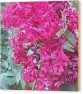 Floral Fever  Wood Print