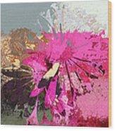 Floral Fiesta - S33ct01 Wood Print