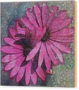 Floral Fiesta  Wood Print