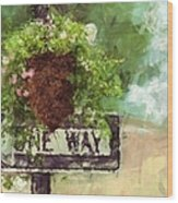 Floral - Flowers - One Way Wood Print