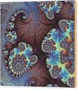 Floral Grandeur Wood Print
