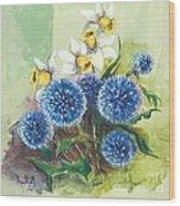 Floral II Wood Print