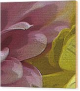 Floral Impressions Wood Print