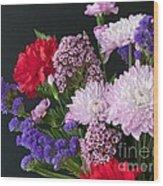 Floral Mix Wood Print