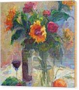Floral Paintings Fp18 Wood Print