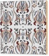 Floral Pattern IIi Wood Print