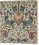 Floral Pattern Wood Print by William Morris