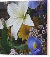 Floral Rhapsody Wood Print