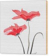 Floral Series #5 Wood Print