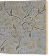 Floral Stem Wood Print