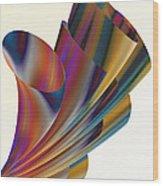 Floral Trumpets Wood Print