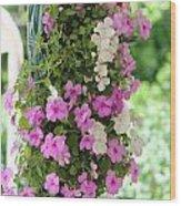 Floral3 Wood Print