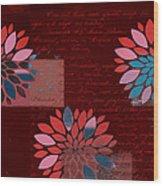 Floralis - 833 Wood Print