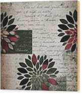Floralis - 889a Wood Print