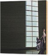 Florence Blumenthal Haunts The Halls Wood Print