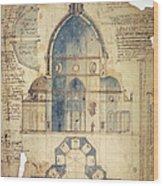 Florence: Brunelleschi Wood Print