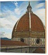 Florence Duomo Italy Wood Print