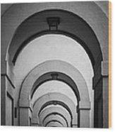 Florence Hallway Wood Print