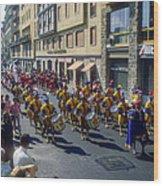 Florence Parade Wood Print