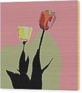 Flores De Vida Wood Print
